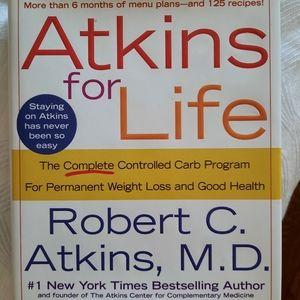 Atkins for Life book w/ recipes